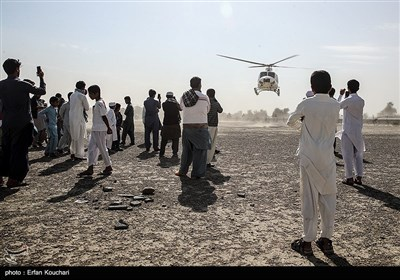 ورود امیدبخش سپاه و ارتش در امدادرسانی به سیل زدگان سیستان و بلوچستان