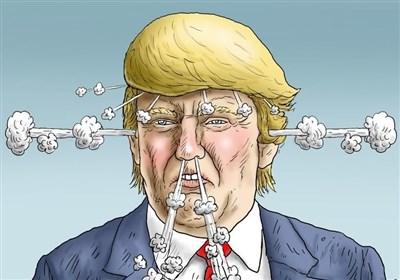 واکنش جالب ۲ گرافیست به اظهارات بی شرمانه ترامپ؛ «بروید تا زنده بمانید»+عکس