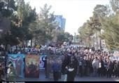 راهپیمایی مردمی در حمایت از مجاهدت مقتدرانه نیروهای مسلح در ارومیه برگزار شد