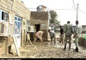 هرمزگان| 6 کمپ اسکان موقت برای سیلزدگان احداث شده است+ فیلم
