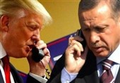 سوریه| حمایت آشکار ترامپ از گروههای تروریستی در گفتوگوی تلفنی با اردوغان