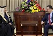 دیدار و گفتوگوی بارزانی و وزیر خارجه قطر در اربیل