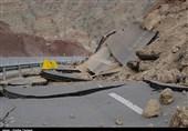 جاده جدید خرمآباد - بروجرد مسدود شد؛ تخریب یک دهنه پل