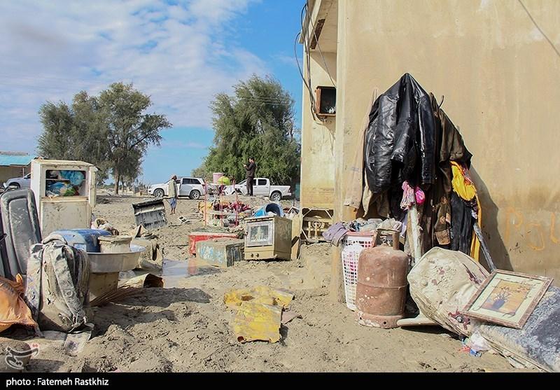 سیلزدگان هرمزگان| سیل زندگی روستاهای کروچ و حاجیآباد استان هرمزگان را نابود کرد + فیلم