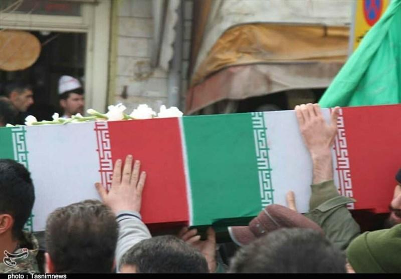استقبال و تشییع پیکر مطهر 2 شهید دفاع مقدس در استان فارس + جزئیات