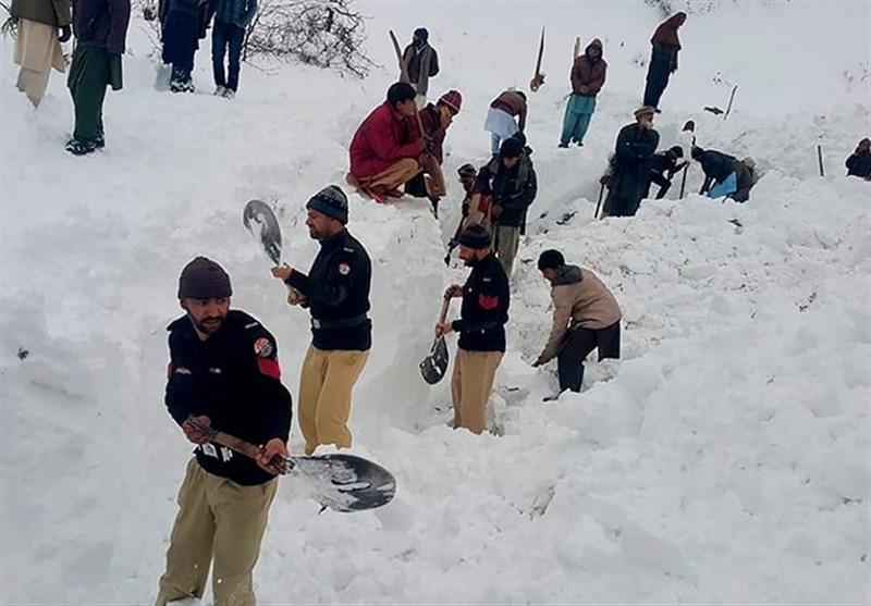 آغاز فاجعه بهمنهای سنگین کوههای هیمالیا در شمال پاکستان؛ 15 نفر دیگر کشته شدند