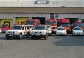 اعزام داوطلبانه 35 آتشنشان تهرانی به مناطق سیلزده سیستان و بلوچستان