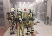 آتشسوزی در مجتمع تجاری تیراژه 2 + تصاویر