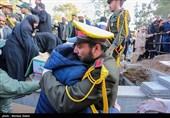 مراسم تشییع 11 شهید سانحه هوایی در اصفهان