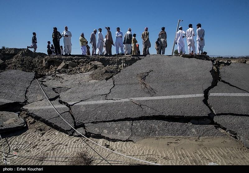خسارت سیل در منطقه عورکیِ سیستان و بلوچستان