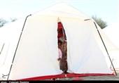 گزارش ویدئویی تسنیم| شرایط طاقتفرسا در کمپهای اسکان سیلزدگان جاسک/ مردم از سرمای شدید شبها خوابشان نمیبرد