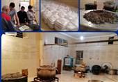 خدمترسانی موکب اربعین خراسان جنوبی در مناطق سیلزده سیستان و بلوچستان