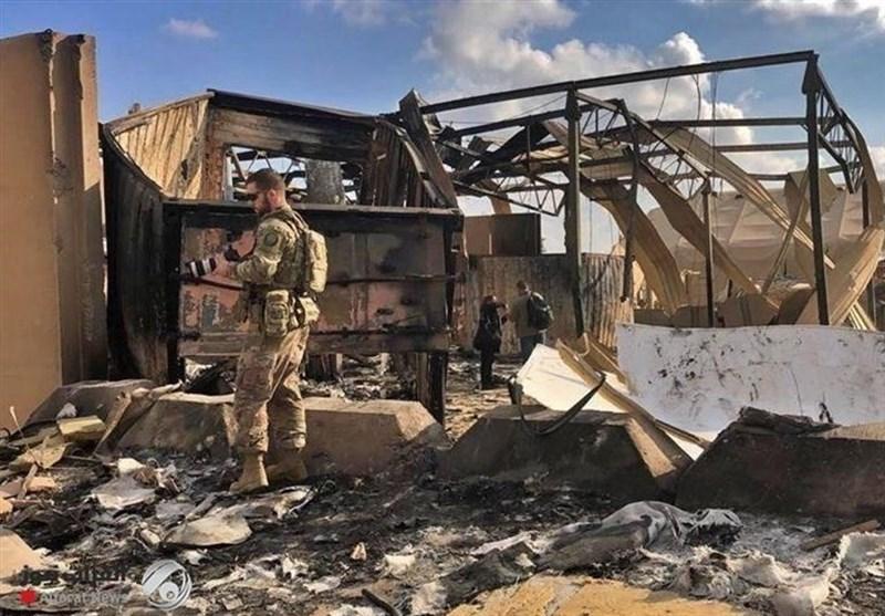 الجیش الأمریکی یعترف بإصابة 11 جندیاً بالقصف الصاروخی الإیرانی