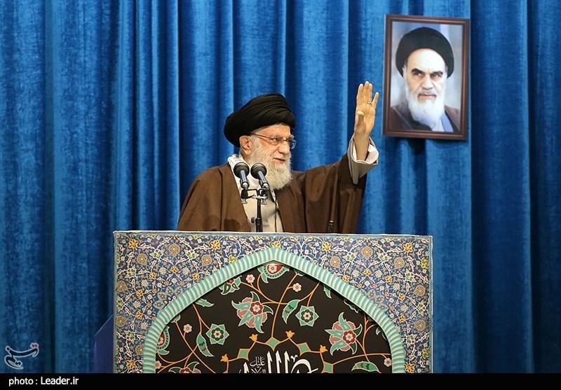 Ayatollah Khamenei Leads Tehran Friday Prayers