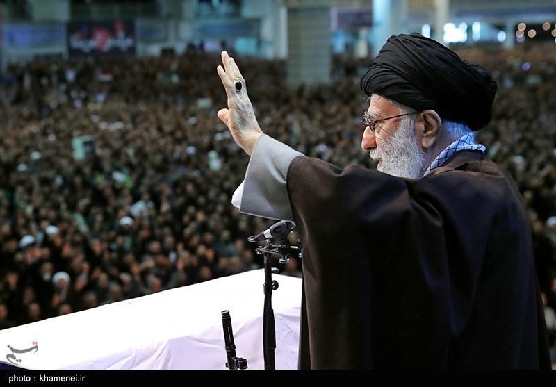 امام خامنهای , سردار قاسم سلیمانی ,
