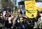 راهپیمایی مردم شهرستانهای تهران در حمایت از صلابت و اقتدار نظام + فیلم