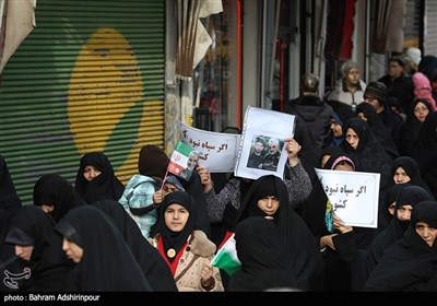 راهپیمایی حمایت از اقتدار نظام در اردبیل