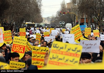 راهپیمایی حمایت از اقتدار نظام در سراسر کشور