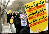 راهپیمایی دفاع از سپاه و همدردی با شهدای سانحه هوایی در کرج برگزار شد + فیلم