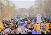 راهپیمایی مردم ارومیه در حمایت از مجاهدت مقتدرانه نیروهای مسلح به روایت تصویر