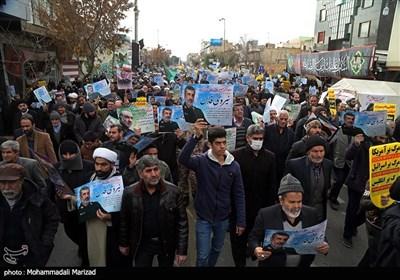 راهپیمایی حمایت از اقتدار نظام در قم