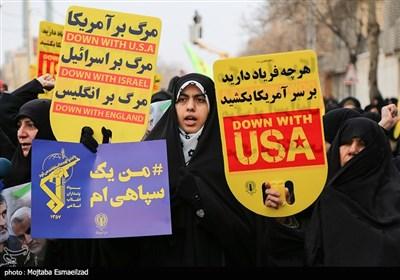 راهپیمایی حمایت از اقتدار نظام در ارومیه