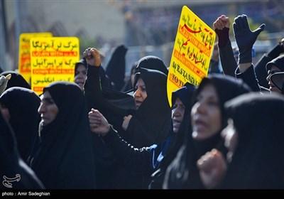 راهپیمایی حمایت از اقتدار نظام در شیراز