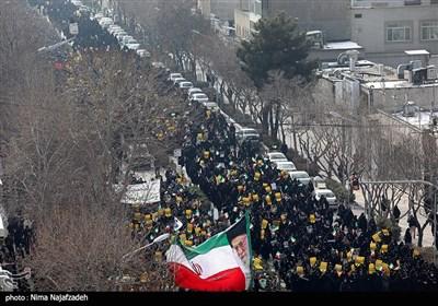 راهپیمایی حمایت از اقتدار نظام در مشهد