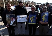 بجنورد| راهپیمایی حمایت از عزت و اقتدار سپاه به روایت تصاویر