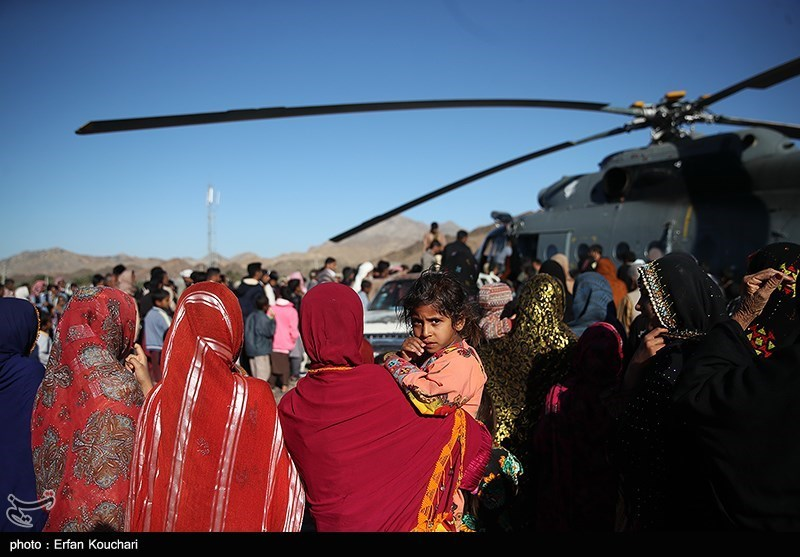 Aerial Relief Operation Underway in Iran's Flood-Hit Province