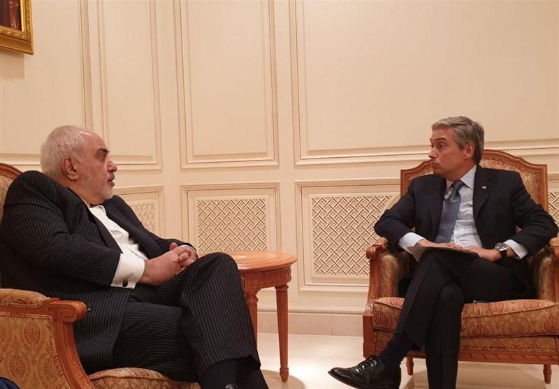 ایرانی وزیر خارجہ کی عمان اور کینیڈا کے وزرائے خارجہ سے ملاقات