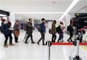 معاینه مسافران چینی در فرودگاههای خارجی برای عدم گسترش بیماری ناشناخته
