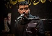 سیدامیر حسینی در میان روضه یادی از شهید صدرزاده میکند + فیلم