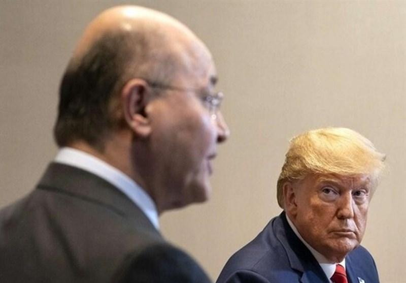 عراق|برهم صالح و بارزانی با ترامپ دیدار کردند+عکس