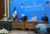 Iran's President Vows to Use All Capacities to Rebuild Flood-Hit Areas