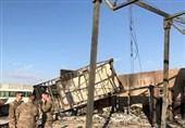 تصاویر یک رسانه روسی از پایگاه عین الاسد آمریکا پس از سیلی ایران