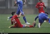 بازی «سپیدرود رشت» و «نیروی زمینی تهران» به روایت تصویر