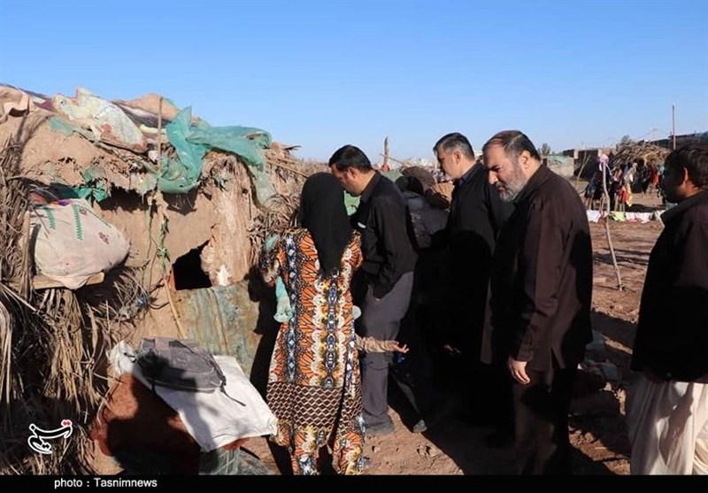 امدادرسانی ستاد اجرایی فرمان حضرت امام به سیلزدگان جنوب کرمان+تصاویر
