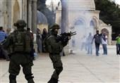مواجهات مع جنود الکیان الصهیونی فی باب الزاویة بالخلیل