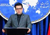 توضیح سخنگوی وزارت خارجه درباره دیدار ظریف و سناتور آمریکایی