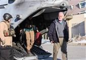 سرپرست موقت سفارت آمریکا مسیر فرودگاه تا سفارت را با بالگرد طی کرد