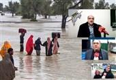 «آتش به اختیار» مردم گیلان در کمک به «سیلزدگان سیستان و بلوچستان» + فیلم