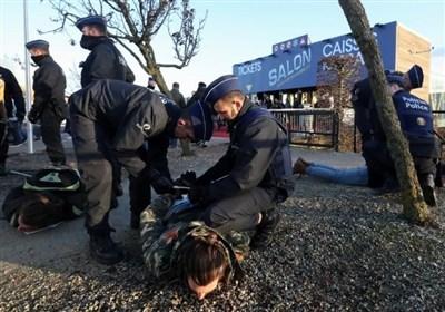 چاقوکشی فرد ناشناس و تیراندازی پلیس در بلژیک