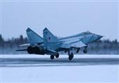 مانورهای مشترک میگ-31 و بمبافکن سوخو-24 در روسیه + فیلم