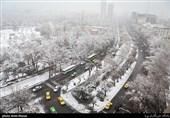 جادههای 5 استان شاهد بارش برف است