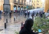 ناآرامیهای جدید در لبنان/ درگیری نیروهای امنیتی با آشوب طلبان