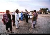 فعالیت موکب عشاق الحسین(ع) مبارکه در مناطق سیلزده سیستان و بلوچستان + تصاویر