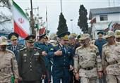 بازدید فرمانده مرزبانی ناجا از مرز مشترک ایران و جمهوری آذربایجان