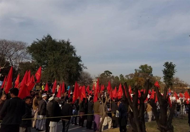 امریکی جارحیت کیخلاف دارالحکومت اسلام آباد میں بھرپور احتجاج +تصاویر