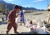امدادرسانی مستمر سپاه به روستاهای بشاگرد / دسترسی 20 روستا هنوز امکانپذیر نیست + تصاویر